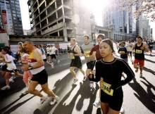 Persone che fanno jogging