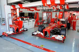 Scuderia Ferrari ai box