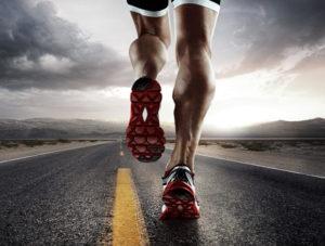 runner su strada